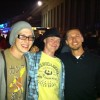 Me with John and Kev at Berlin festival