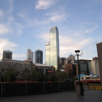 Some buildings in Melbourne
